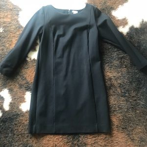 Jcrew structured black dress, size XS